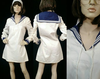 Vintage Sailor Mini Dress