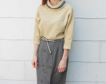 Vintage 1950's Skirt and Shirt Set by House of Suburbia (#18-1)