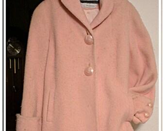 vintage Betty rose pink coat
