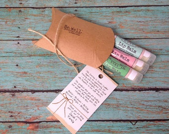 LIP BALM Variety Gift Pack - Paraben/Sulfate Soap and Lip Balm