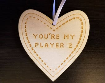 Love Ornament - You're my player 2