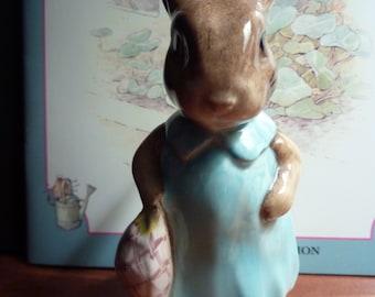 Vintage Beswick Beatrix Potter MRS FLOPSY BUNNY 1965 England