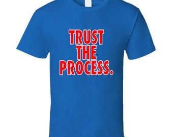 Trust The Process Joel Embiid Philadelphia Basketball Nba T Shirt
