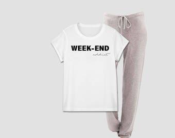 Weekend Addict woman Pajama set