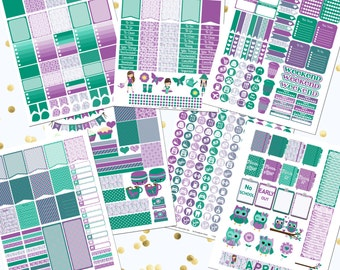 50% OFF DIY April Printable Planner Stickers Monthly Kit 700+ Stickers pdf and 7 jpeg