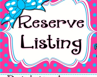Reserve listing for Kaylan