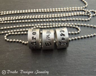 personalized charm Custom name necklace