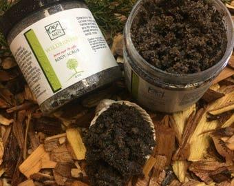 Wilderness Brown Sugar and Coffee Scrub, Handmade Coffee and Brown Sugar Scrub