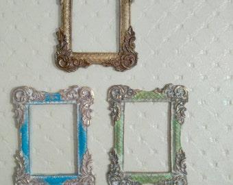 1 polychrome frame. Esc.  1/12. Color to choose