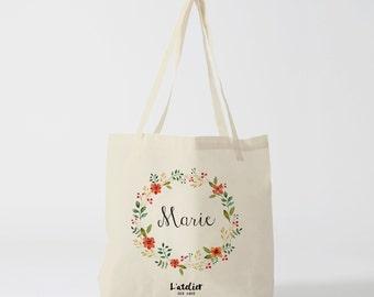 W7Y Tote bag custom wedding, Bridesmaid bags, Wedding Bags, Bridal Pary Gifts, Personalized Handbags, Bridesmaid Gifts,  by atelier des amis