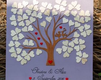 Wedding Tree Guestbook Birds