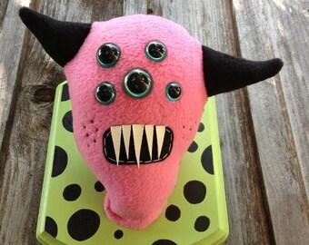 Pink Monster Headmount