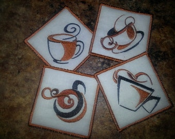 Coffee Coasters (set of 4)
