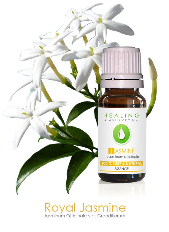 Jasmine oil, 100% Pure essential oil- Jasmine essential oil- Natural jasmine flower essence- Aromatherapy Undiluted oil- Bath and beauty oil