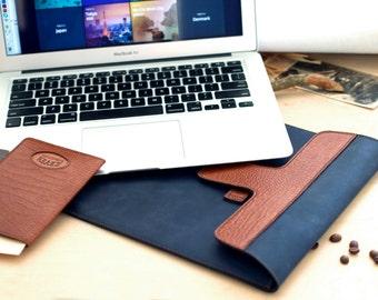 Leather Macbook Pro Case, Leather Macbook Air Case, Macbook Cover