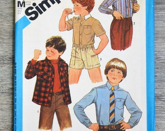 Pattern Simplicity 6565 sewing pouch - shirt 4t