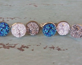 SUPER SALE - Druzy Ring - 6.99