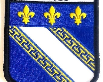 Troyes Embroidered Patch