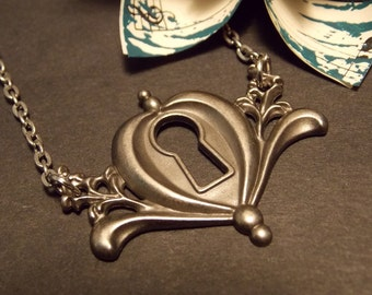 Fairy Tale Inspired Keyhole Necklace