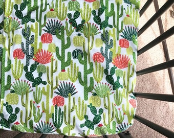 Cactus crib sheet.
