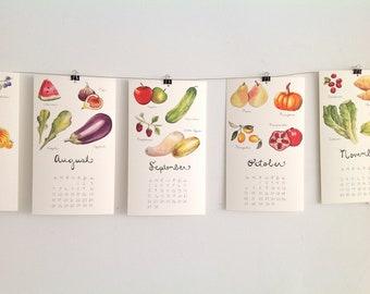 2018 Produce Calendars