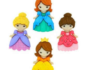 Belle of the Ball Dress It Up Buttons