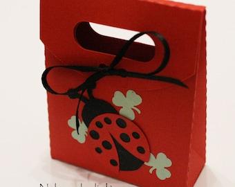 "Favor box ""Ladybug2"""