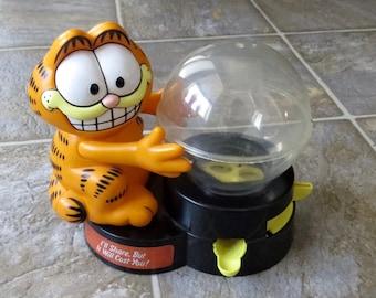 Vintage Garfield Gum / Candy Dispensor 1980 In Working Conditon