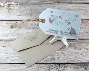 Save the Date Luggage Tags, luggage tag, save the date, wedding invitation
