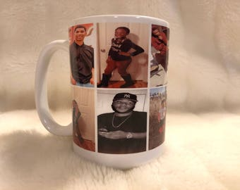 Personalized Photo Coffee Mug--Customizable, perfect for christmas/birthday gifts