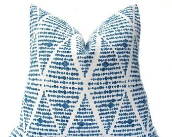 15% Off Sale Blue Pillow, Pillows, Decorative Pillow, Pillow Cover, Tan Pillow, Throw Pillow Covers, Decorative Blue Pillow, Blue throw Pill