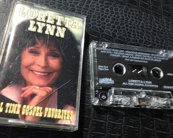 LORETTA LYNN - All Time Gospel Favorites Tape One