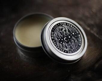 Perfume Enhancing Fixative Base™ - beeswax balm, salve to wear under natural perfume oil - For Strange Women original product