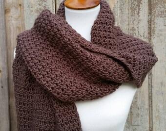 Blanket Scarf Crochet Pattern, Oversized Blanket Scarf Crochet Pattern, Lenny Kravitz Inspired DIY Scarf. Free Bonus pattern with purchase