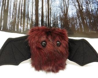 Scarlet The Scrappy Bat Stuffed Animal, Plush