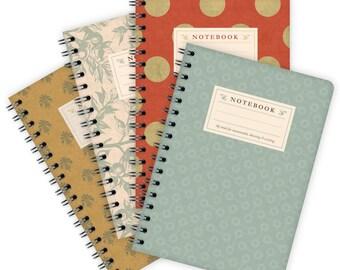 Set of 4 Notebooks A6 – Patterns