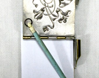 Aide de Memoire - Dance Card - 1800s Dance Card - French Dance Card - Aide Memoire