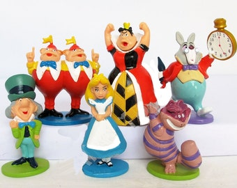 Alice in Wonderland Cake/Cupcake Figures- priced per character