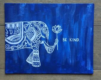 Elephant Canvas