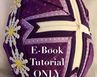 E-Book Tutorial for folded fabric cross