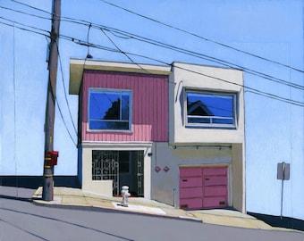 Bernal Heights (one) - 11 x 14 archival print - 89/100