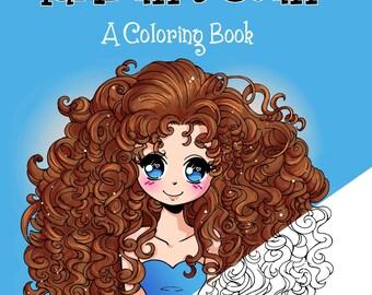 YamPuff's Stuff - A Digital Coloring Book Full of Kawaii Chibis