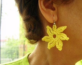PDF Tutorial Crochet  Pattern - Two Design Dangle Earrings -25