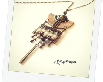 Necklace original spirit Bohemian Japanese motifs