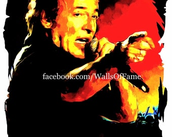 Bruce Springsteen Painting 1