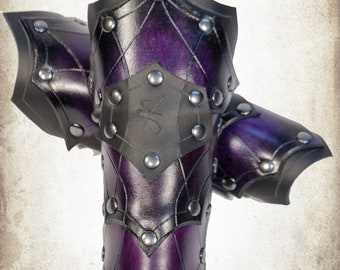 battlemage bracers woman armor for LARP, action roleplaying and cosplay