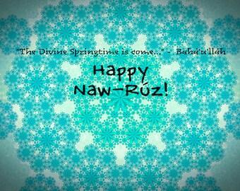 Naw-Ruz Card 4