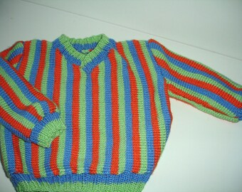 Ready to ship- Bert sweater for Children/Boys/Girls For Sizes US 7 to US 8 years