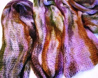 SPORT SOCK BLANK, 2 sock yarn blanks, not matching but dyed at same time, variegated, hand dyed, Color - Lovin' Life