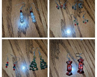 Christmas Themed Earrings